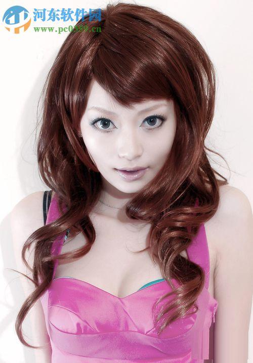 ps编发头发颜色_ps修改头发方法的发型-颜色韩国改变时尚图片