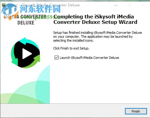 iSkysoft iMedia Converter Deluxe安装汉化教程
