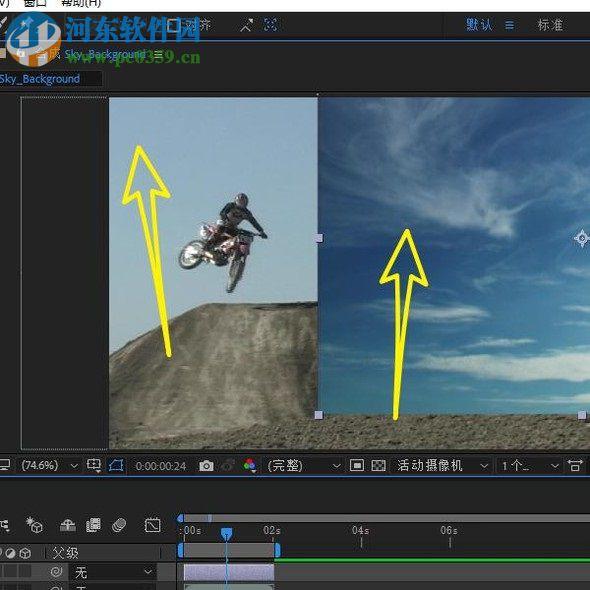 ae给视频更换天空背景的方法