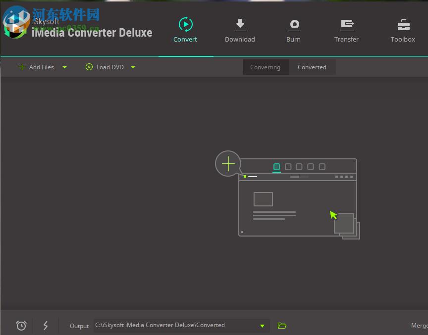 iSkysoft iMedia Converter Deluxe的使用方法