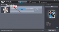 Dimo BDmate制作ISO文件的方法
