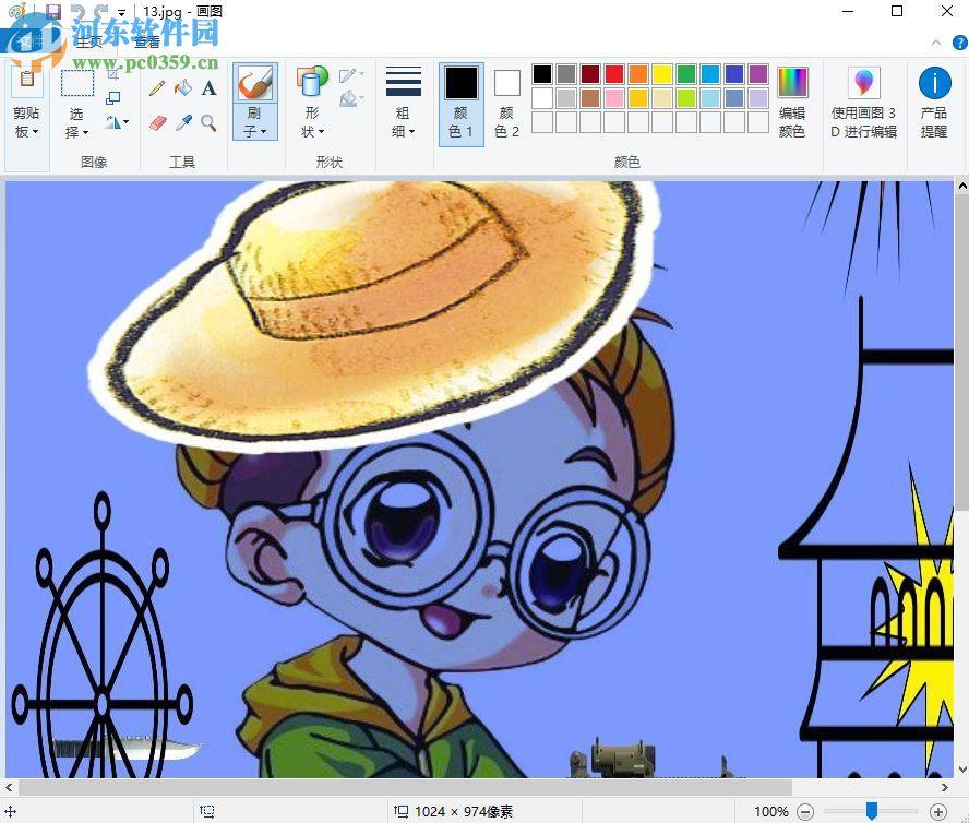 fxcartoonizer制作卡通图片的方法图片