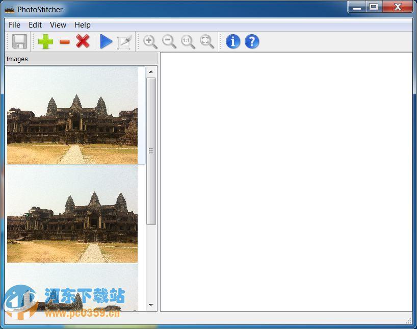 全景照片合成教程截图1