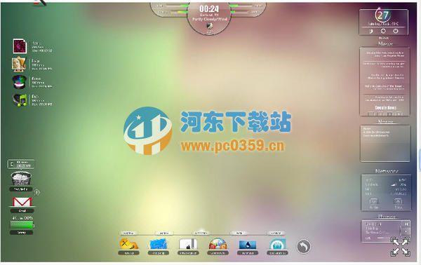 Rainmeter(系统监控桌面美化软件)