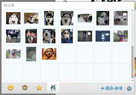 qq 哈士奇/哈士奇qq表情包是一款收集全面的哈士奇搞笑图片,哈士奇的图片...