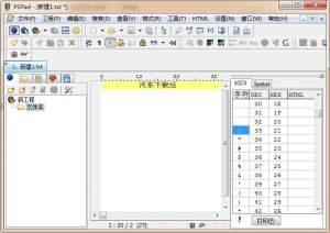 PSPad editor(代码编辑器) 5.0.0.277 绿色免费版