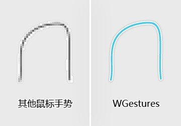 WGestures(鼠标手势软件) 1.8.4.0 官方免费版