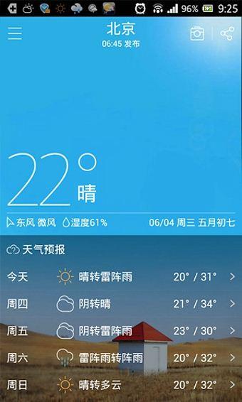 和天气(1)