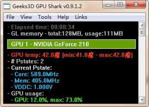 GPU Shark(显卡监测软件) 0.11.2.0 免费免费版