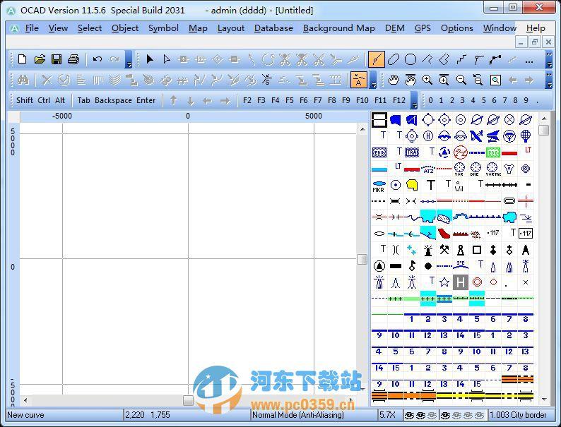 OCAD软件(地图绘制)平面设计讲座教程视频图片