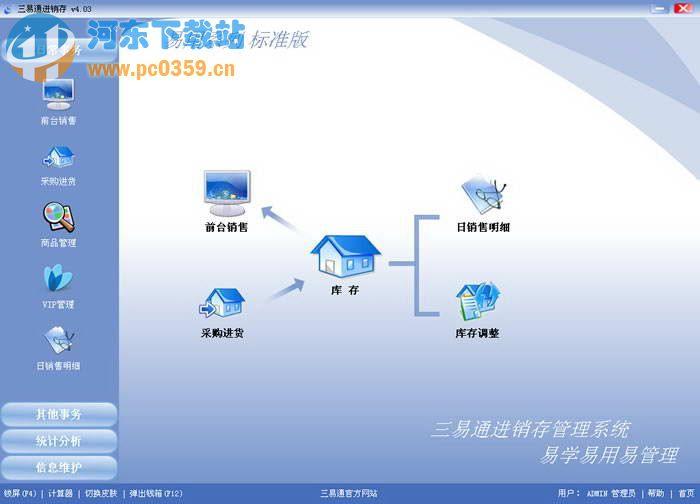 三易通进销存软件系统 4.43 标准版