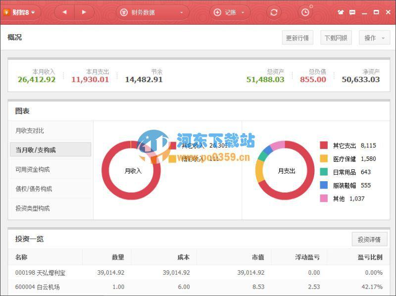 财智8专业理财工具 8.39 官方免费版
