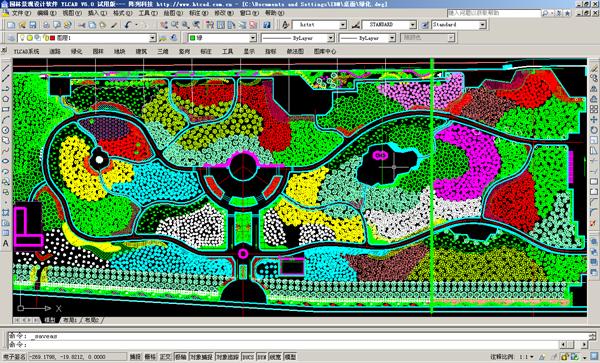 ylcad园林景观设计软件 8.0 绿色免费版