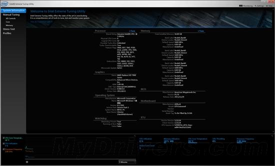 Intel Extreme Tuning Utility(英特尔超频软件) 6.4.1.25 官方正式版