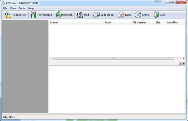 光盘数据恢复软件(CDRoller) 11.30.50.0 中文破解版