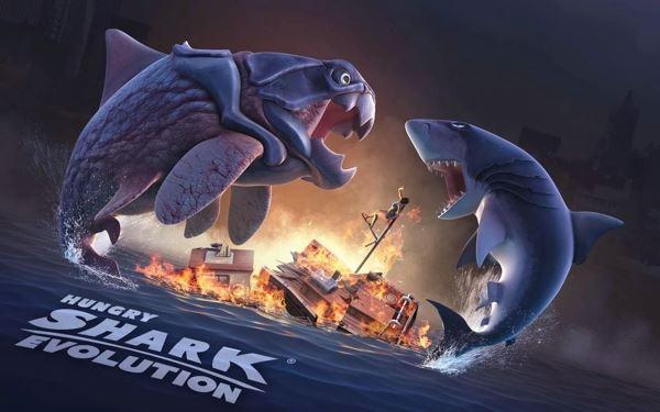 饥饿的鲨鱼进化修改版截图4
