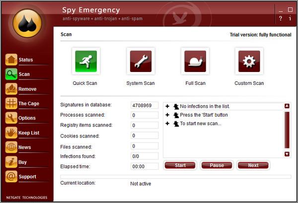 Spy Emergency(间谍病毒查杀) 25.0.200.0 中文版