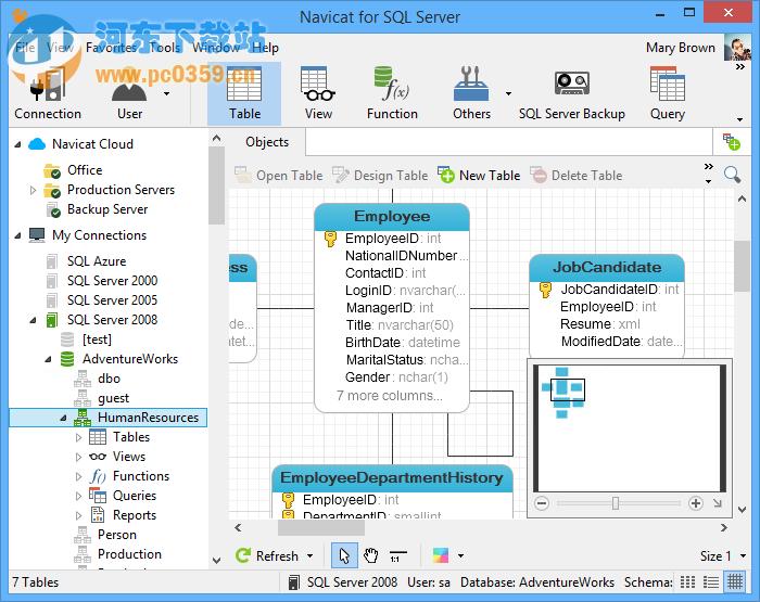 navicat for sql server(Mssql数据库管理软件)