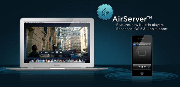 AirServer For PC 4.0.11 免费版