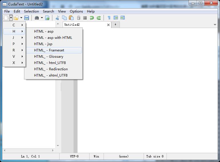 CudaText代码编辑器 1.78.5.0 官方绿色版