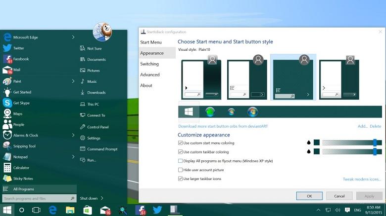 startisback++ windows 10 2.8.0.0 官方版