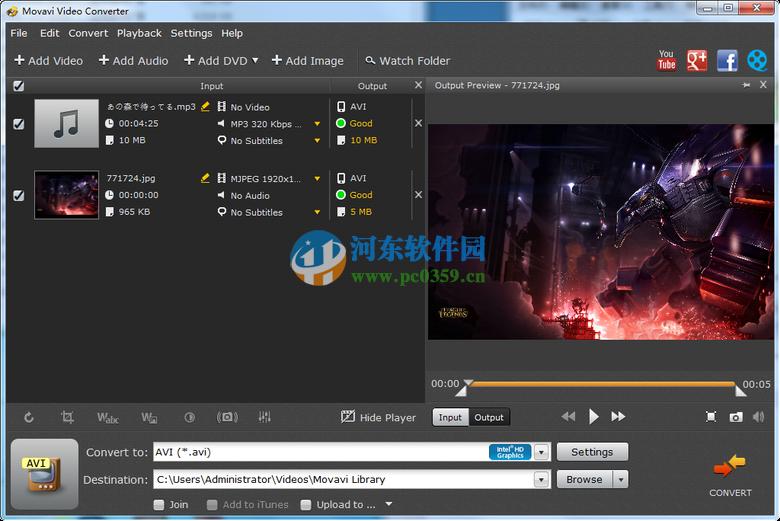 Movavi Video Converter(视频格式转换) 18.1.0 特别版