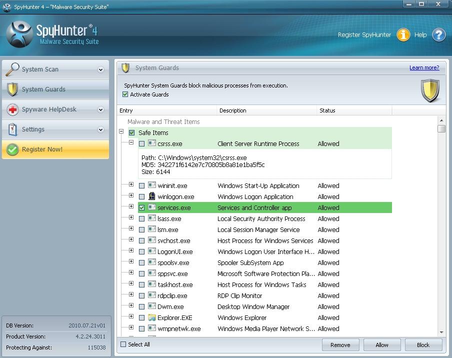 SpyHunter 64位 4.28.5.4848 特别版