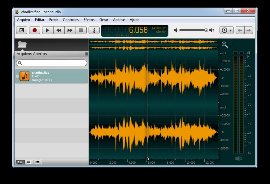 ocenaudio(音频编辑器) 3.4.1 正式版