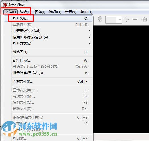看图工具(IrfanView) 4.50 绿色中文版