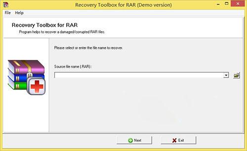 Recovery Toolbox For RAR(RAR恢复工具) 1.4 免费版