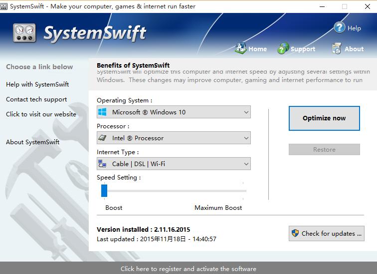 SystemSwift(多功能管理软件) 2.6.4.2018 官方最新版