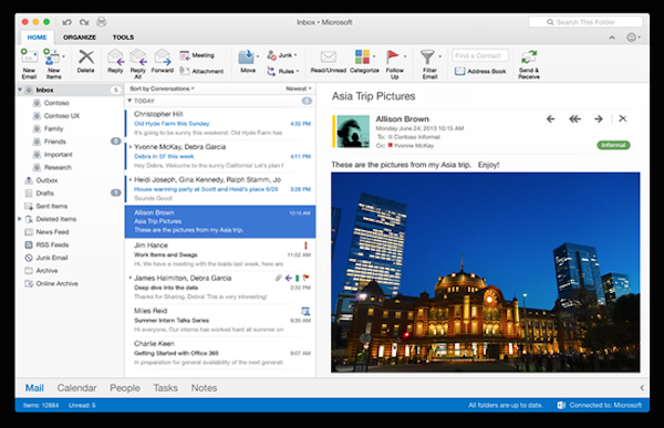 Office 2016 for mac 16.23 正式版