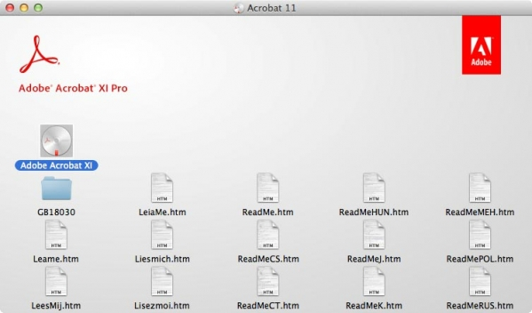 Acrobat xi pro Mac版 11.0.20