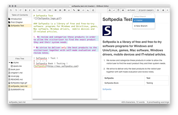 GitBook Editor Mac版 7.0.11