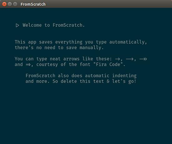 FromScratch Mac版 1.1.1