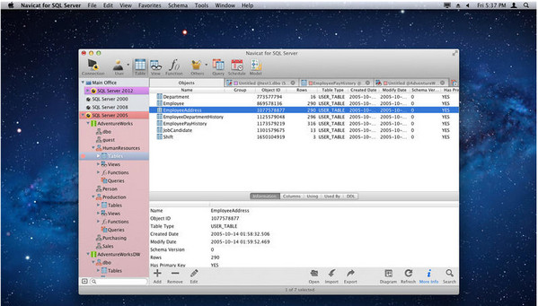 Navicat for SQL Server 12 12.0.24 Mac 版