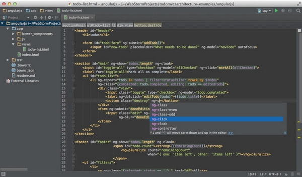 WebStorm for mac版 11.0.3