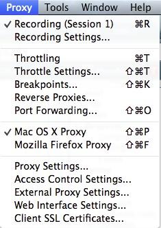 Charles for Mac版 4.2.5