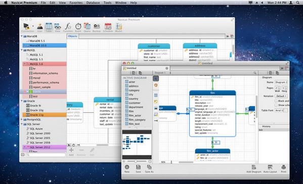 Navicat Premium mac破解版 11.1.12