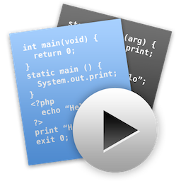 coderunner for mac版 2.3