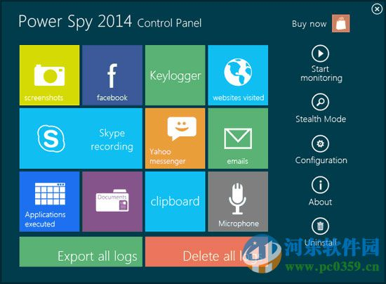 Power Spy(家长监视系统) 12.85 官方版