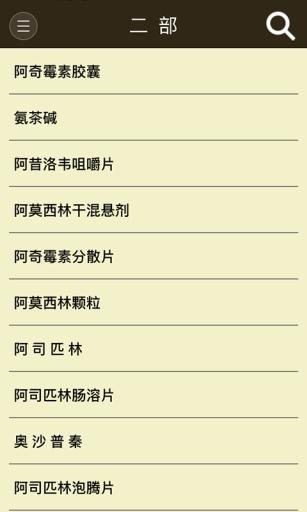 中国药典(2)