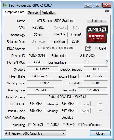 GPU-Z 2.22.0 绿色版