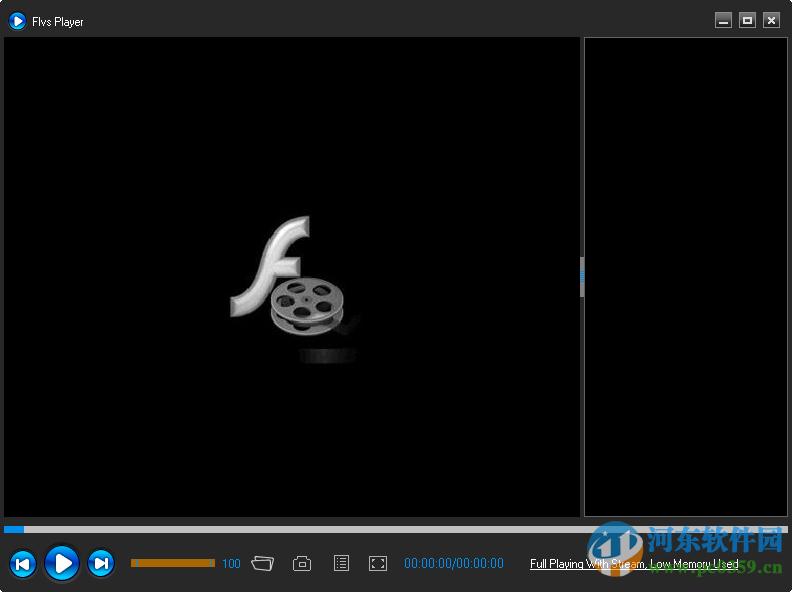 flv文件播放器(Flvs Player) 1.0.0.20 绿色版