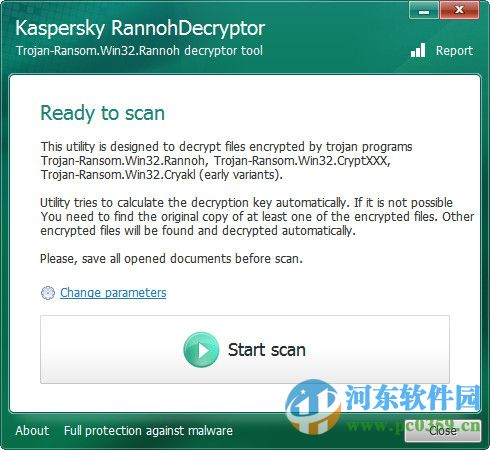 kaspersky rannohdecryptor 1.0.1 绿色版
