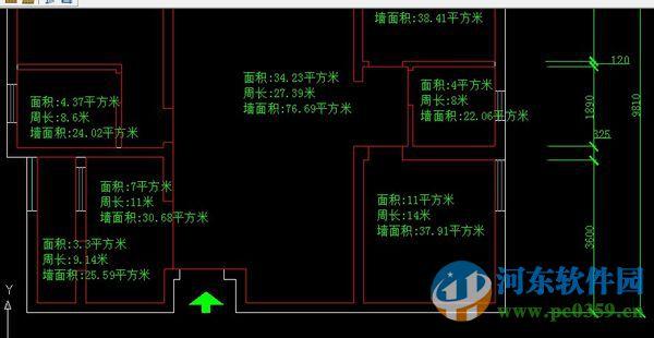 mj.lsp(cad插件标注面积)免费版免费cad去v插件插件版图片