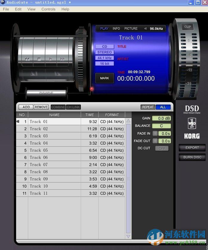 AudioGate音乐播放器下载(KORG Audio Gate 3) 3.0.3 官方特别版