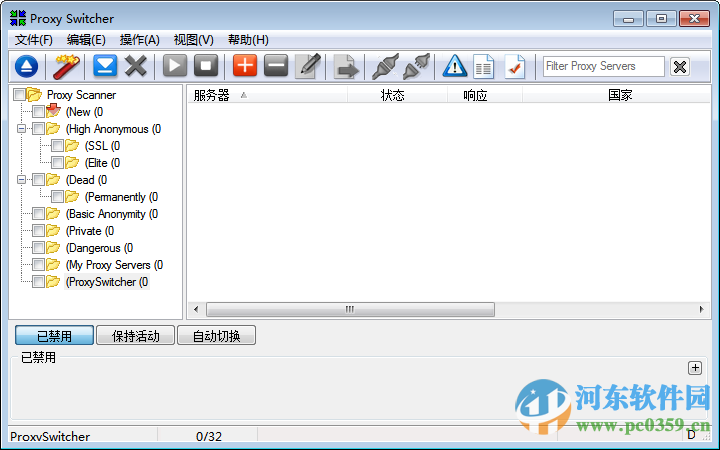 Proxy Switcher Pro 6.4 (网络IP代理软件)代理工具,外贸必备软件!