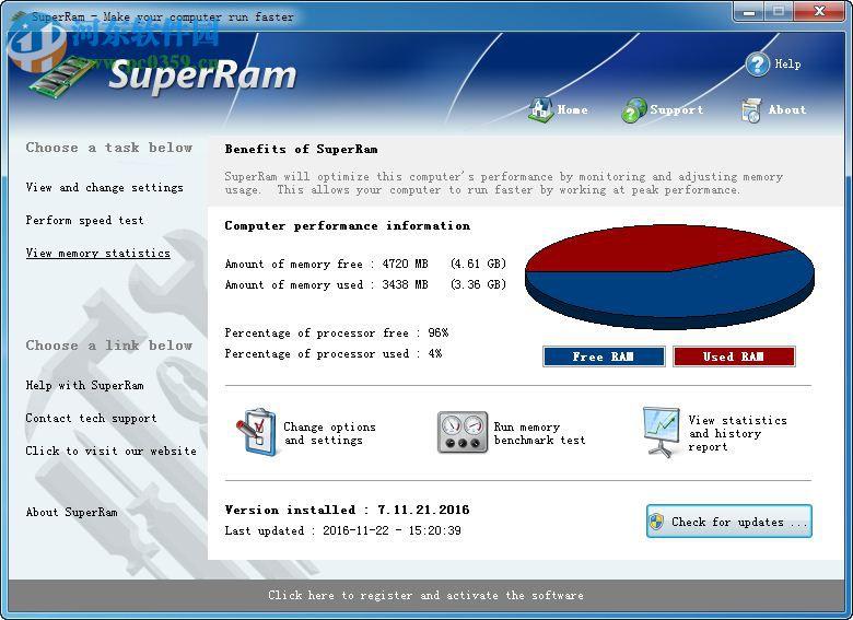PGWARE SuperRam(<a href=http://www.pc0359.cn/s/neicunyouhua/ target=_blank class=infotextkey>内存整理</a>工具)