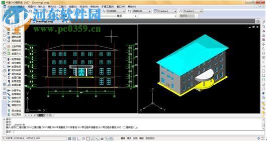 中望下载CAD教育版2017卡住(32/64位)cad就一用建筑填充图片